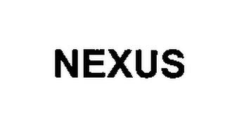 mark for NEXUS, trademark #76444509