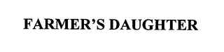 mark for FARMER'S DAUGHTER, trademark #76445941