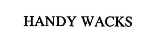 mark for HANDY WACKS, trademark #76446153
