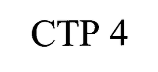 mark for CTP 4, trademark #76446283