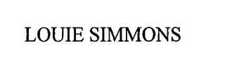 mark for LOUIE SIMMONS, trademark #76446458