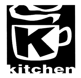 mark for K KITCHEN, trademark #76447900