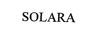 mark for SOLARA, trademark #76448125
