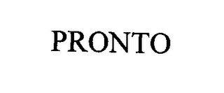 mark for PRONTO, trademark #76448318