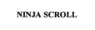 mark for NINJA SCROLL, trademark #76448784