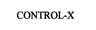 mark for CONTROL-X, trademark #76448852