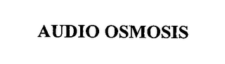 mark for AUDIO OSMOSIS, trademark #76449977