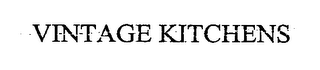 mark for VINTAGE KITCHENS, trademark #76451999