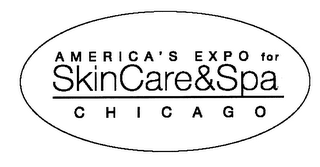 mark for AMERICA'S EXPO FOR SKIN CARE & SPA CHICAGO, trademark #76453984