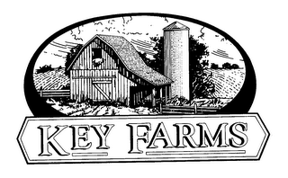 mark for KEY FARMS, trademark #76457025
