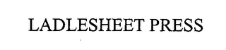 mark for LADLESHEET PRESS, trademark #76457448