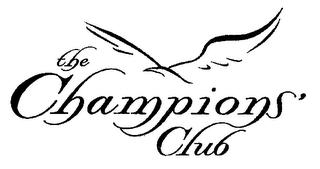 mark for THE CHAMPIONS' CLUB, trademark #76458511