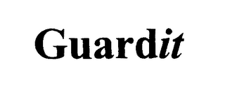mark for GUARDIT, trademark #76458553