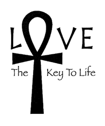 mark for LOVE THE KEY TO LIFE, trademark #76459534