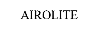 mark for AIROLITE, trademark #76462348