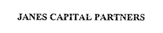 mark for JANES CAPITAL PARTNERS, trademark #76464448