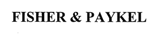 mark for FISHER & PAYKEL, trademark #76465603