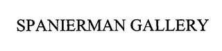 mark for SPANIERMAN GALLERY, trademark #76469073