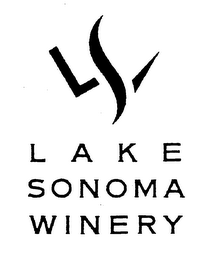 mark for LSW LAKE SONOMA WINERY, trademark #76469385