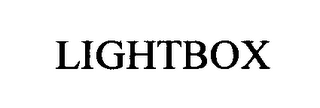 mark for LIGHTBOX, trademark #76472116
