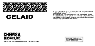mark for GELAID, trademark #76473702