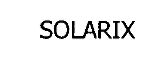 mark for SOLARIX, trademark #76474181