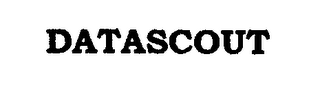 mark for DATASCOUT, trademark #76474582