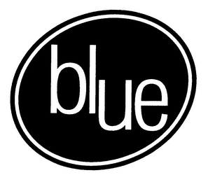 mark for BLUE, trademark #76475901