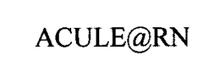 mark for ACULE@RN, trademark #76476097