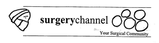 mark for SURGERYCHANNEL YOUR SURGICAL COMMUNITY, trademark #76476148