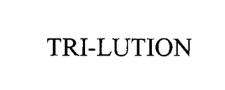 mark for TRI-LUTION, trademark #76477630