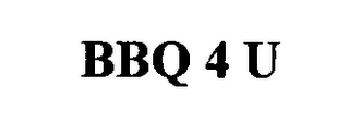 mark for BBQ 4 U, trademark #76478056