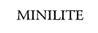 mark for MINILITE, trademark #76478477