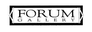 mark for FORUM GALLERY, trademark #76480014