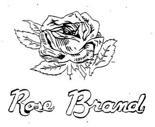mark for ROSE BRAND, trademark #76480075