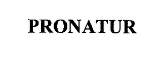 mark for PRONATUR, trademark #76480585