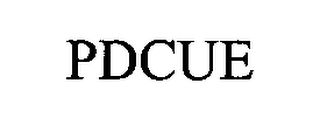 mark for PDCUE, trademark #76480860
