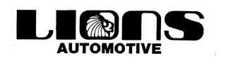 mark for LIONS AUTOMOTIVE, trademark #76483273
