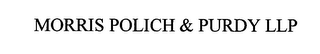 mark for MORRIS POLICH & PURDY LLP, trademark #76483794