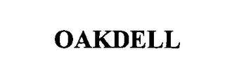 mark for OAKDELL, trademark #76483956