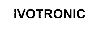 mark for IVOTRONIC, trademark #76483961