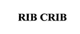 mark for RIB CRIB, trademark #76484183