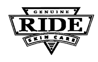 mark for RIDE GENUINE SKIN CARE, trademark #76485733