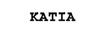 mark for KATIA, trademark #76486181