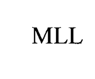 mark for MLL, trademark #76486976