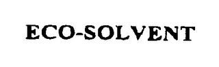 mark for ECO-SOLVENT, trademark #76489982