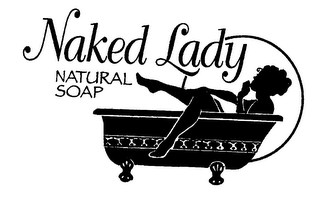 mark for NAKED LADY NATURAL SOAP, trademark #76490189