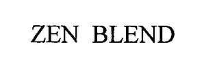 mark for ZEN BLEND, trademark #76490578