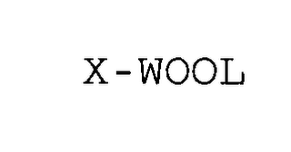 mark for X-WOOL, trademark #76490998