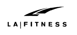 mark for L A FITNESS, trademark #76492088
